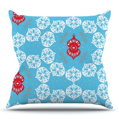 Frosted by Miranda Mol Throw Pillow Size: 20 H x 20 W
