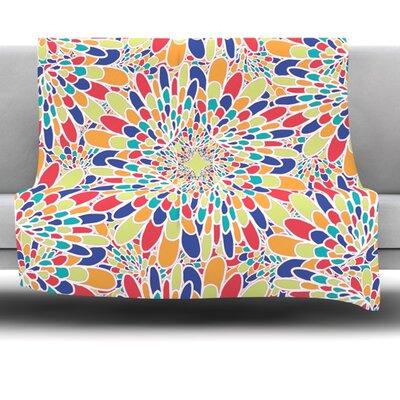 Flourishing by Miranda Mol 80 Fleece Blanket Size: 80 L x 60 W