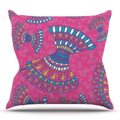 Tribal Fun by Miranda Mol 16 Throw Pillow