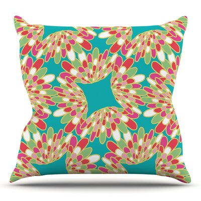 Wings by Miranda Mol Throw Pillow Size: 18 H x 18 W