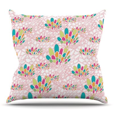 Blown Away by Miranda Mol Throw Pillow Size: 16 H x 16 W