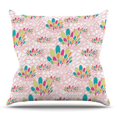 Blown Away by Miranda Mol Throw Pillow Size: 20 H x 20 W