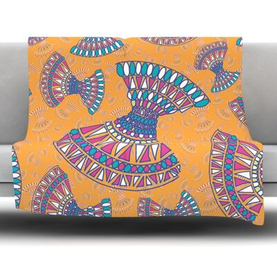 Tribal Fun by Miranda Mol 30 Fleece Blanket