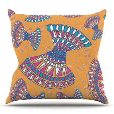 Tribal Fun by Miranda Mol 18 Throw Pillow