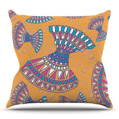 Tribal Fun by Miranda Mol 26 Throw Pillow