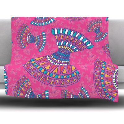 Tribal Fun by Miranda Mol 30 Fleece Blanket