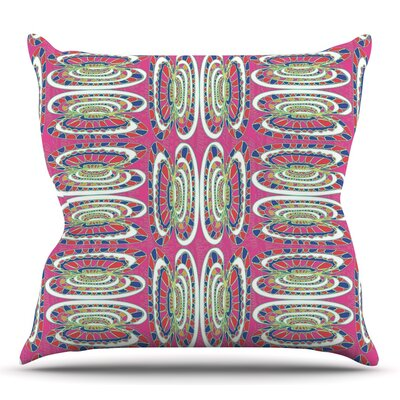 Bohemian Wild by Miranda Mol Throw Pillow Size: 16 H x 16 W