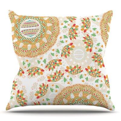 Bohemian Bright by Miranda Mol Throw Pillow Size: 18 H x 18 W