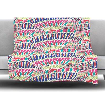 Abundance by Miranda Mol Fleece Blanket Size: 80 L x 60 W