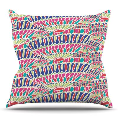 Abundance by Miranda Mol Throw Pillow Size: 18 H x 18 W
