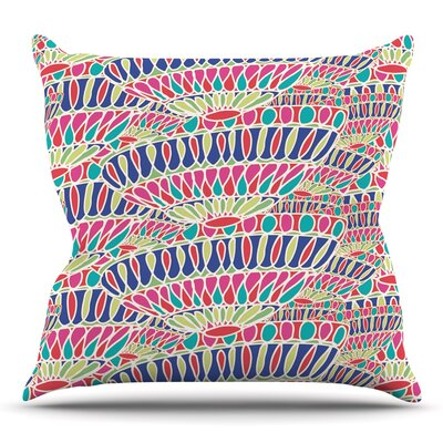 Abundance by Miranda Mol Throw Pillow Size: 20 H x 20 W