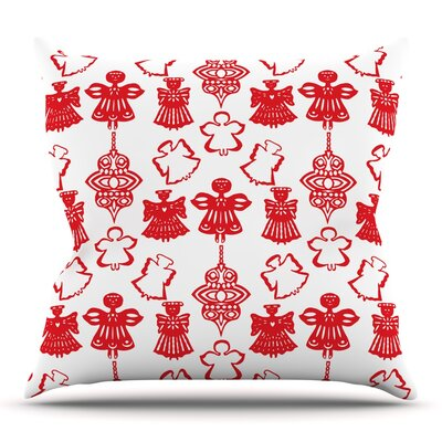 Angels Singing by Miranda Mol Throw Pillow Size: 16 H x 16 W