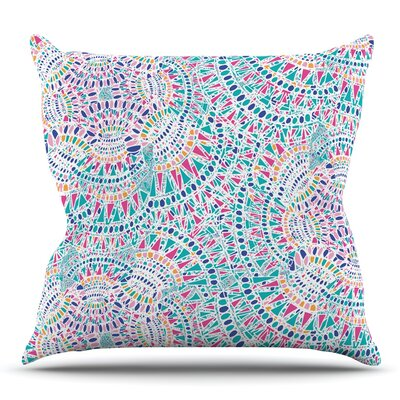 Kaleidoscopic by Miranda Mol 18 Throw Pillow