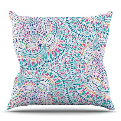 Kaleidoscopic by Miranda Mol 26 Throw Pillow