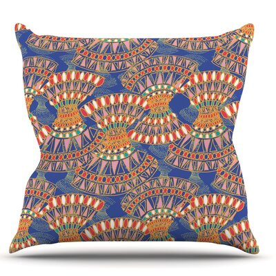 Energy by Miranda Mol Throw Pillow Size: 16 H x 16 W
