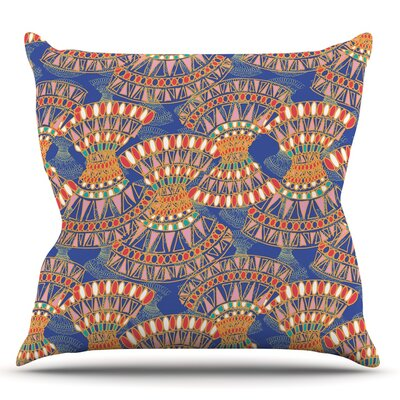 Energy by Miranda Mol Throw Pillow Size: 18 H x 18 W