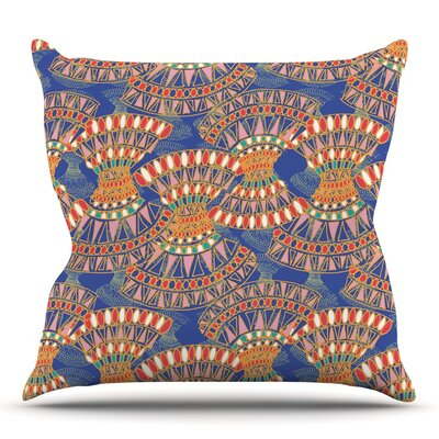 Energy by Miranda Mol Throw Pillow Size: 20 H x 20 W