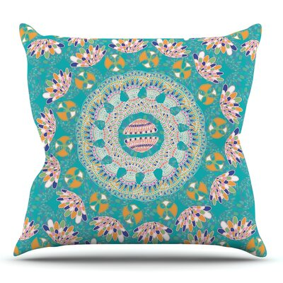 Luscious by Miranda Mol Throw Pillow Size: 18 H x 18 W