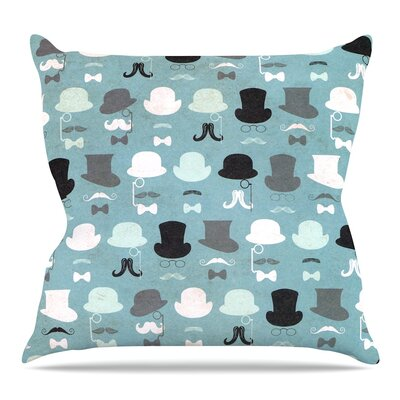 Hats Off to You Throw Pillow Size: 26 H x 26 W x 5 D