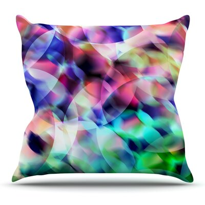 Party Throw Pillow Size: 20 H x 20 W x 4 D