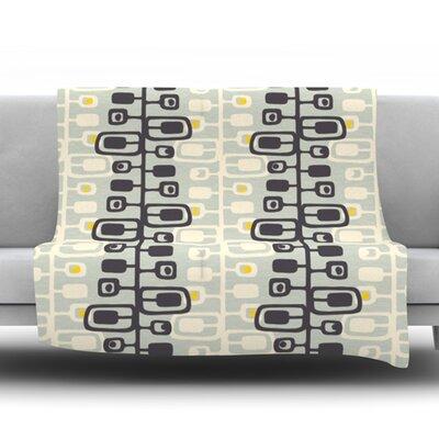 Carnaby Fleece Throw Blanket Size: 60 L x 50 W
