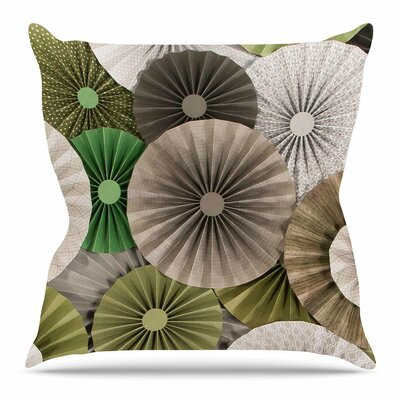 Forest Throw Pillow Size: 18 H x 18 W x 3 D