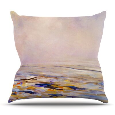 Hazy Sunrise Throw Pillow Size: 16 H x 16 W x 3 D