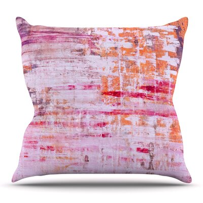 Throw Pillow Size: 16'' H x 16'' W x 3