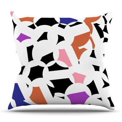 Geo Fun Throw Pillow Size: 26 H x 26 W x 5 D