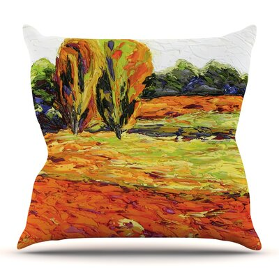 Summer Breeze Throw Pillow Size: 26 H x 26 W x 5 D
