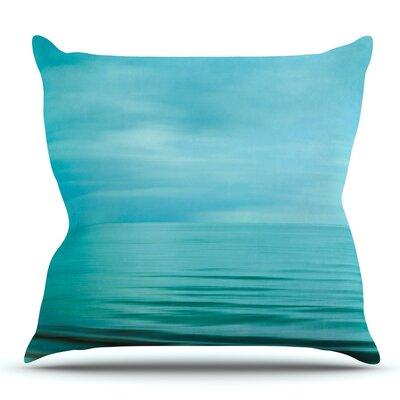 Calm Sea Throw Pillow Size: 18 H x 18 W x 3 D