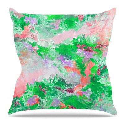 When We Were Mermaids 4 Throw Pillow Size: 26 H x 26 W x 5 D