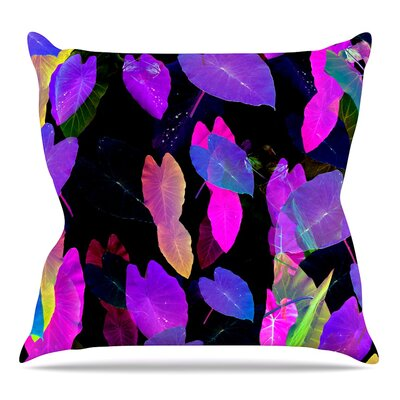 Fluo Jungle Throw Pillow Size: 16 H x 16 W x 3 D