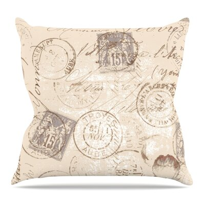 World Traveler Throw Pillow Size: 26 H x 26 W x 5 D