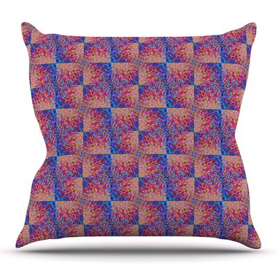 Splash Revisited Throw Pillow Size: 18 H x 18 W x 3 D