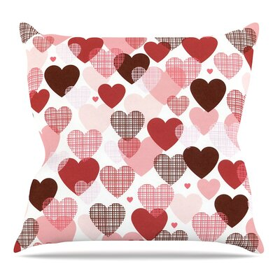 Love Throw Pillow Size: 16 H x 16 W x 3 D