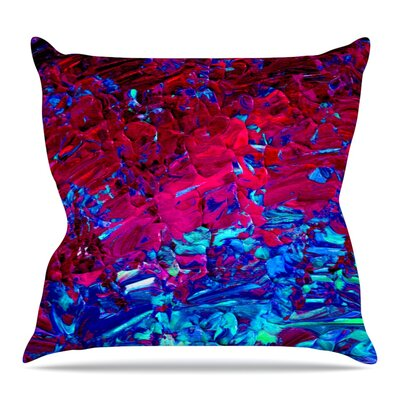 Eternal Tide Throw Pillow Size: 16 H x 16 W x 3 D
