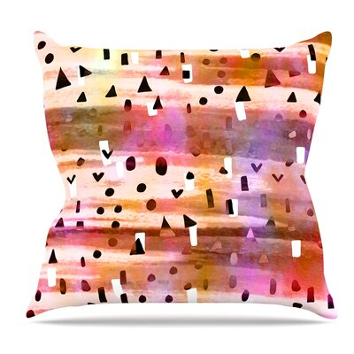 Geo Party Throw Pillow Size: 18 H x 18 W x 3 D