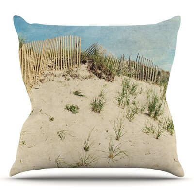 Cape Dunes Throw Pillow Size: 20 H x 20 W x 4 D