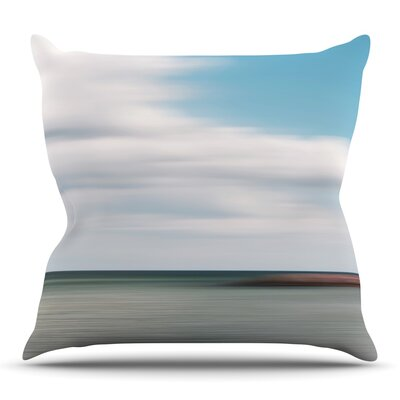 June Beach Throw Pillow Size: 26 H x 26 W x 5 D
