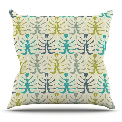 My Leaves Throw Pillow Size: 20 H x 20 W x 4 D