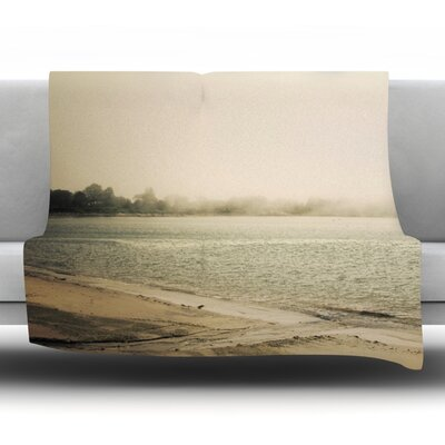Stormy Coast Fleece Throw Blanket Size: 80 L x 60 W
