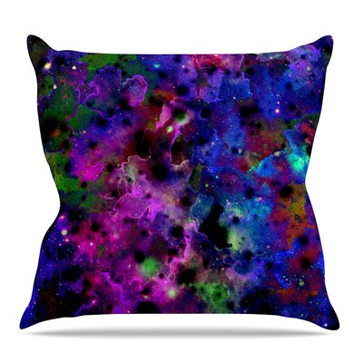 Color Me Floral Throw Pillow Size: 26 H x 26 W x 5 D