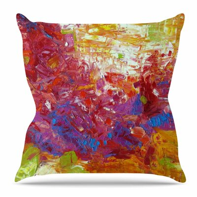 Sonoran Fantasy Throw Pillow Size: 18 H x 18 W x 3 D