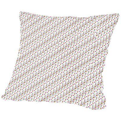 BeachBabeEssentials CaraKozik Throw Pillow Size: 18 H x 18 W x 2 D
