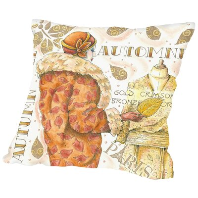 Autumn Fall Throw Pillow Size: 16 H x 16 W x 2 D