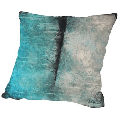 Antarctica Throw Pillow Size: 14 H x 14 W x 2 D