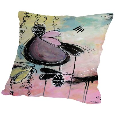 Baby Motus Throw Pillow Size: 18 H x 18 W x 2 D