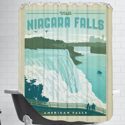 ASA-NP-Niagra Shower Curtain