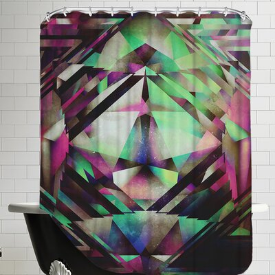 Ace of Bottles Shower Curtain